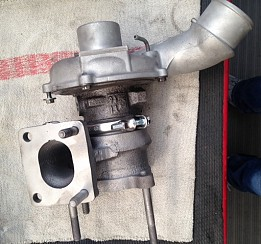 Lancia Musa 1.9 turbodúchadlo