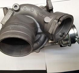 Volkswagen Touareg 2.5 turbodúchadlo